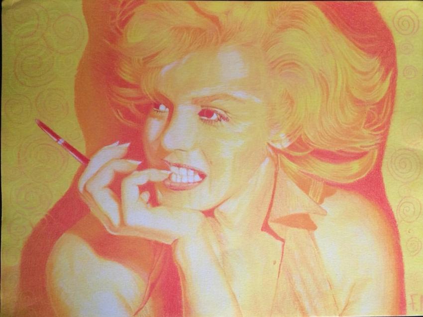 Marilyn Monroe by Fema